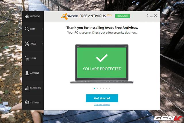 tải Avast Free Antivirus 2016