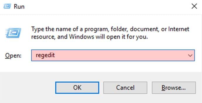 Cách 2: Thay đổi đường dẫn Windows Explorer trong Registry