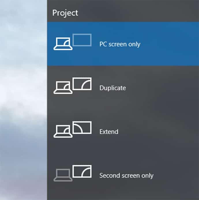 Cách 4: Kiểm tra lại chế độ hiển thị mặc định của Windows