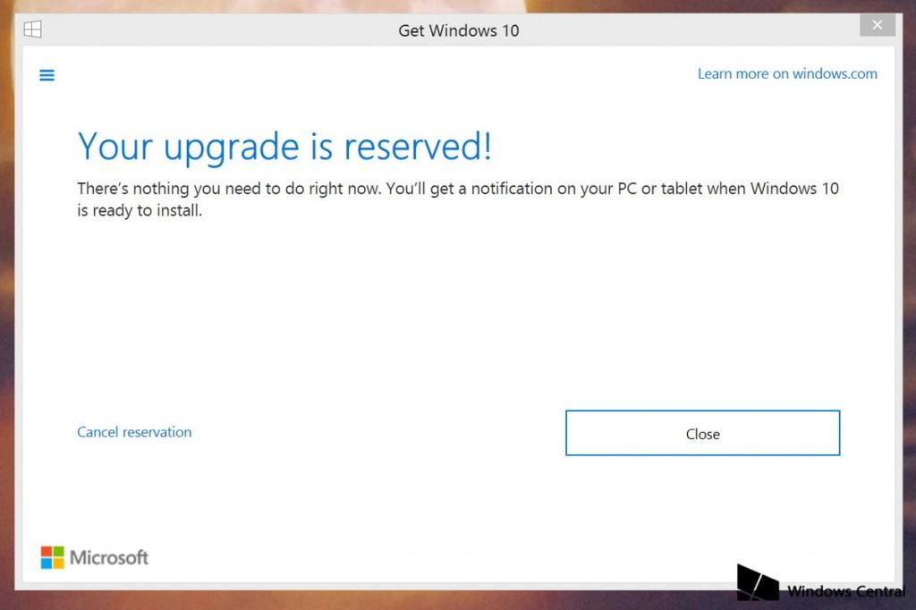 """Cách thoát khỏi """" Win 7, Win 8.1 bị ép cập nhật lên Win 10"""" Get Windows"""
