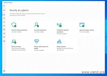 Cách tắt Windows Security (Defender) hoàn toàn trên Windows 10
