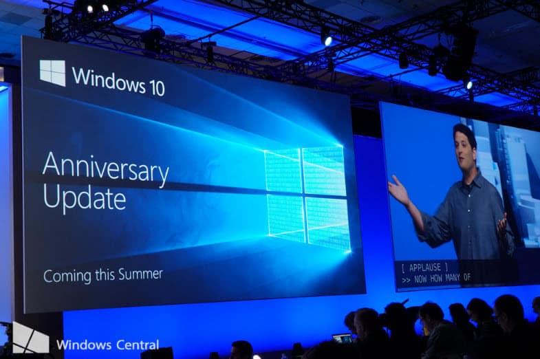 Windows 10 Anniversary Bản cập nhật lớn ngày 29/07?