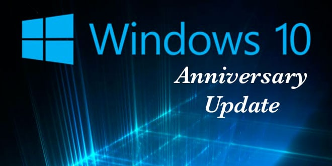 bản cập nhật Windows 10 Anniversary