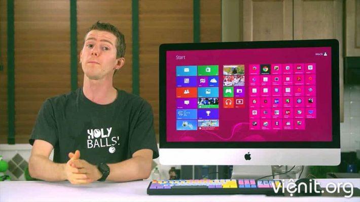 cài win cho máy MAC apple