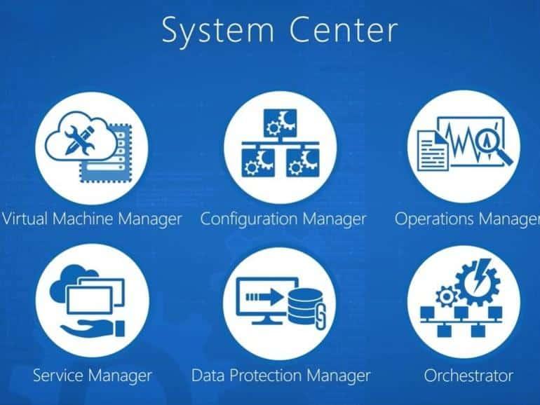 System Center 2016. Phương thức quản lý trung tâm dữ liệu được định nghĩa bằng phần mềm (software-defined datacenter)