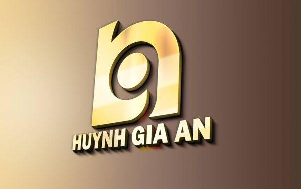Thiết kế logo Cơ khí huỳnh gia an