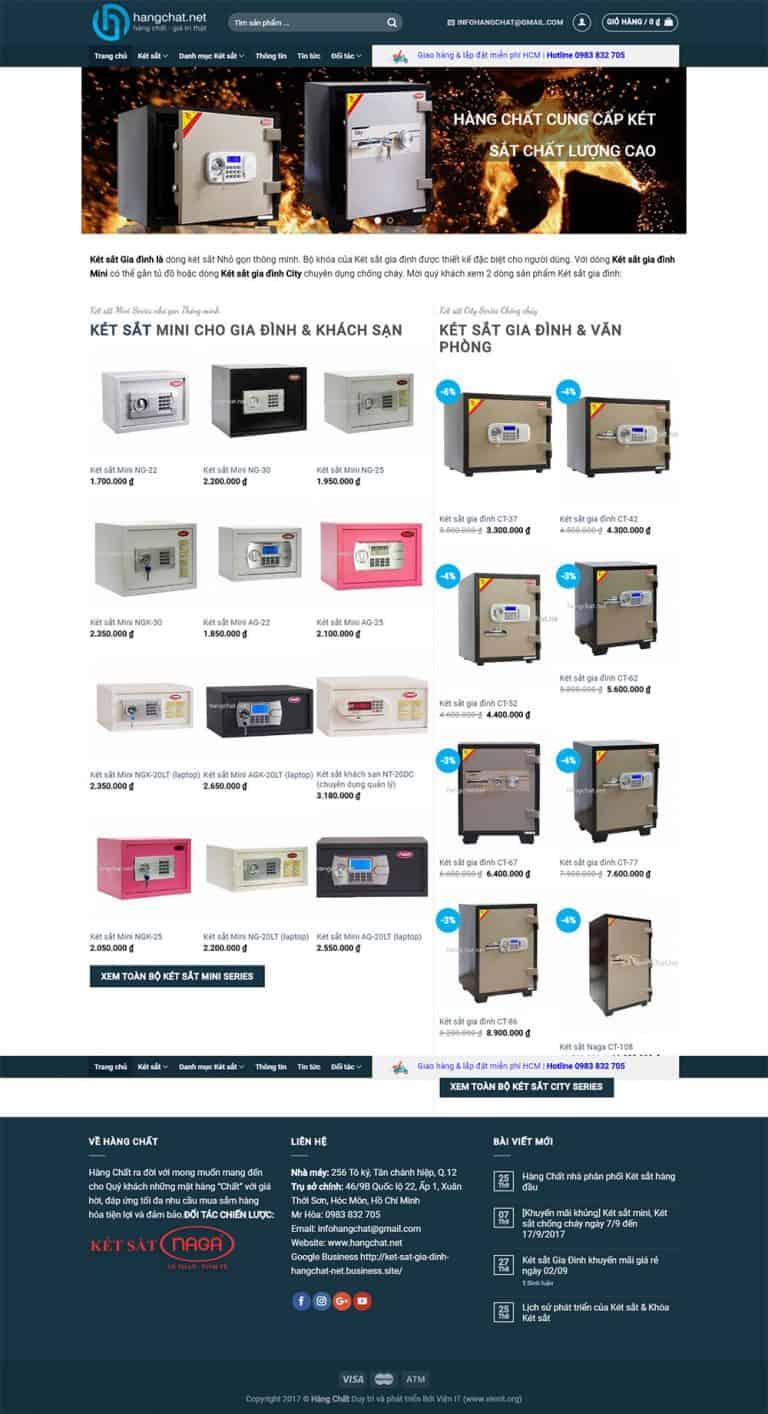 Trang chủ Website thương mại điện tử Hàng Chất