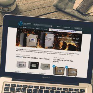 Thiết kế Website thương mại điện tử Hàng Chất