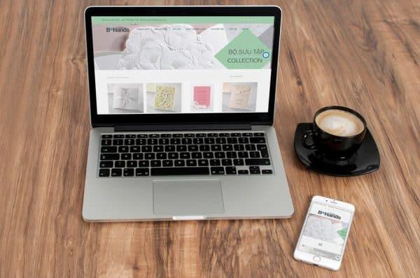 Thiết kế Website Bhands Việt Nam