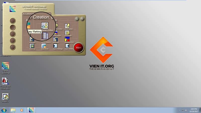 Cài Gerber Accumark 9.0 Win7 64bit Full đã thành công
