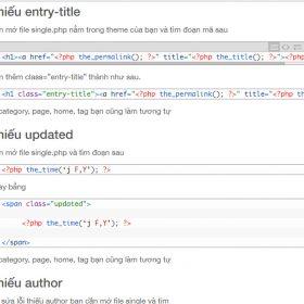 Thiếu: author Thiếu: entry-title Thiếu: updated trên mạng không hiệu quả