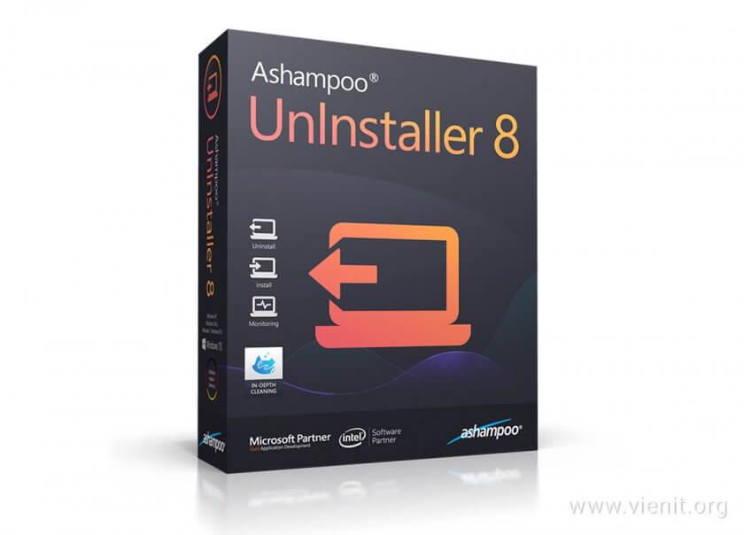 Cài đặt phần mềm Ashampoo UnInstaller 8
