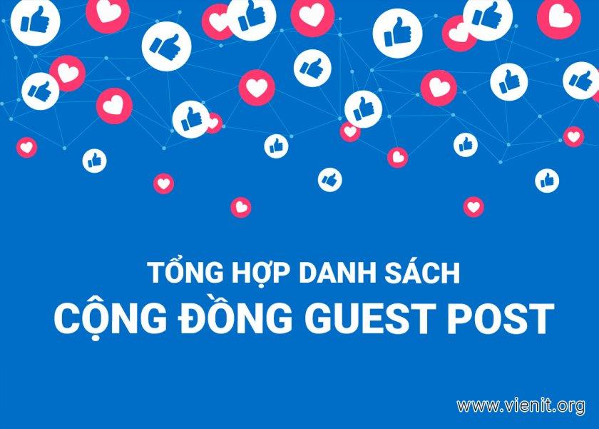 cộng đồng guest post chất lượng nhất