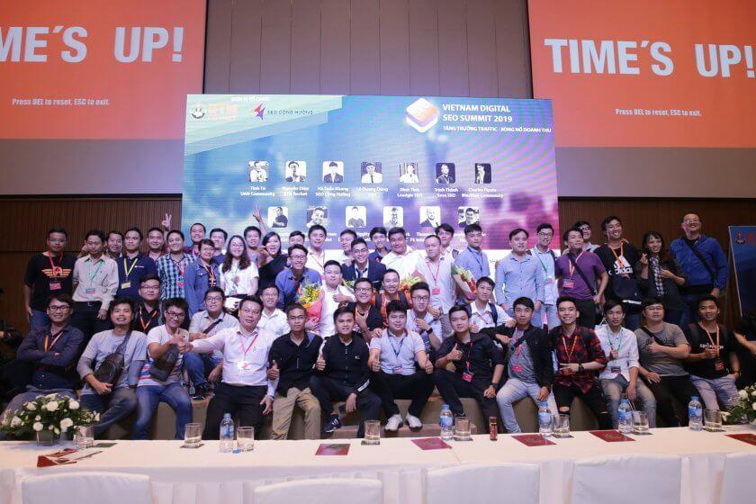 Tham dự sự kiện Việt Nam Digital SEO Submit 2019