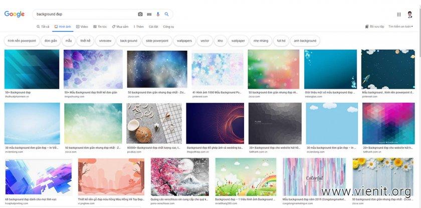 Xu hướng tìm kiếm hình ảnh trên điện thoại tăng cao