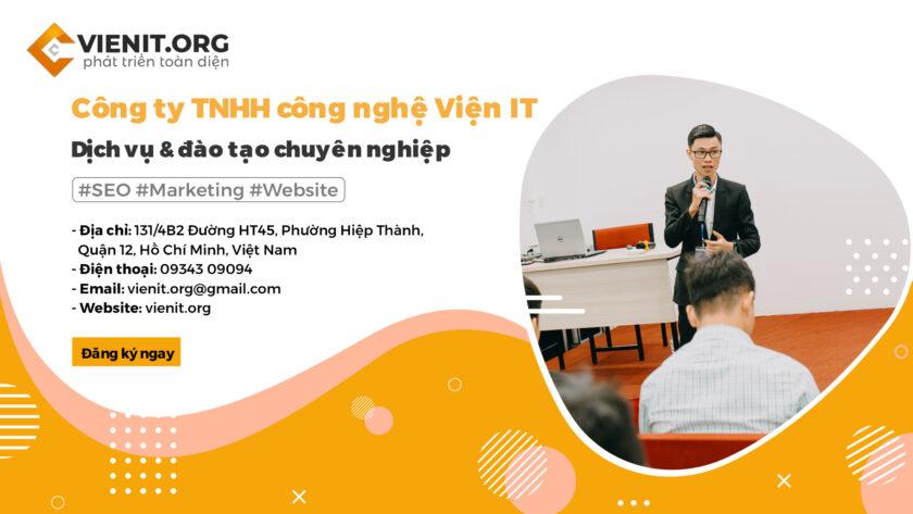 Viện IT - Top 3# SEO Agency tại TPHCM