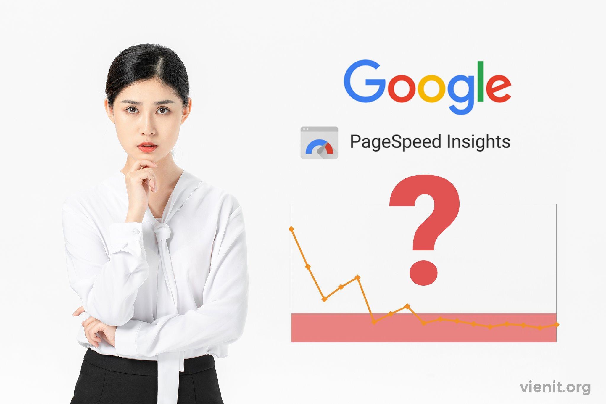 Mình đã rớt TOP ngay sau khi website đang SEOđược tối ưu điểm Google PageSpeed như thế nào?